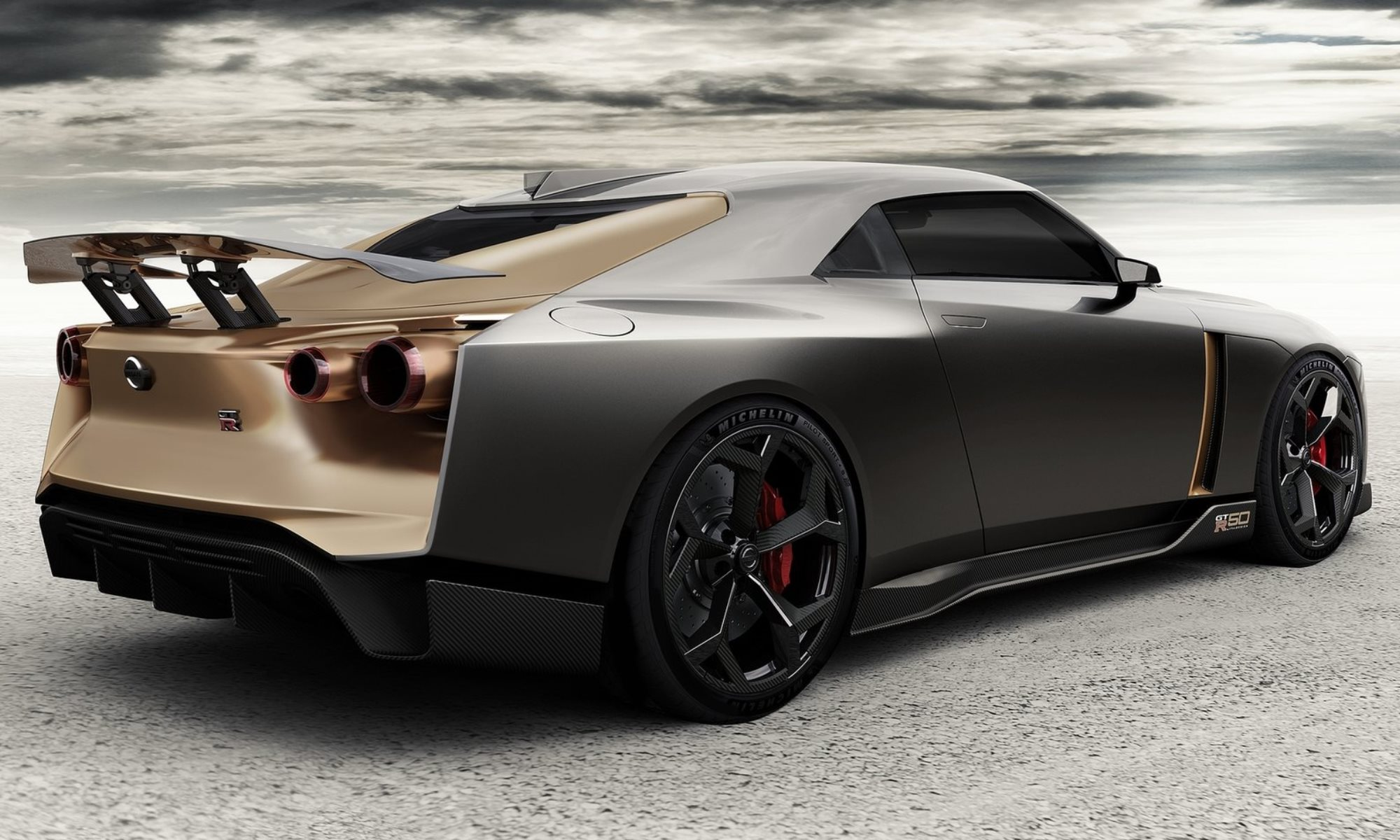 Nissan GT-R50 by Italdesign rear