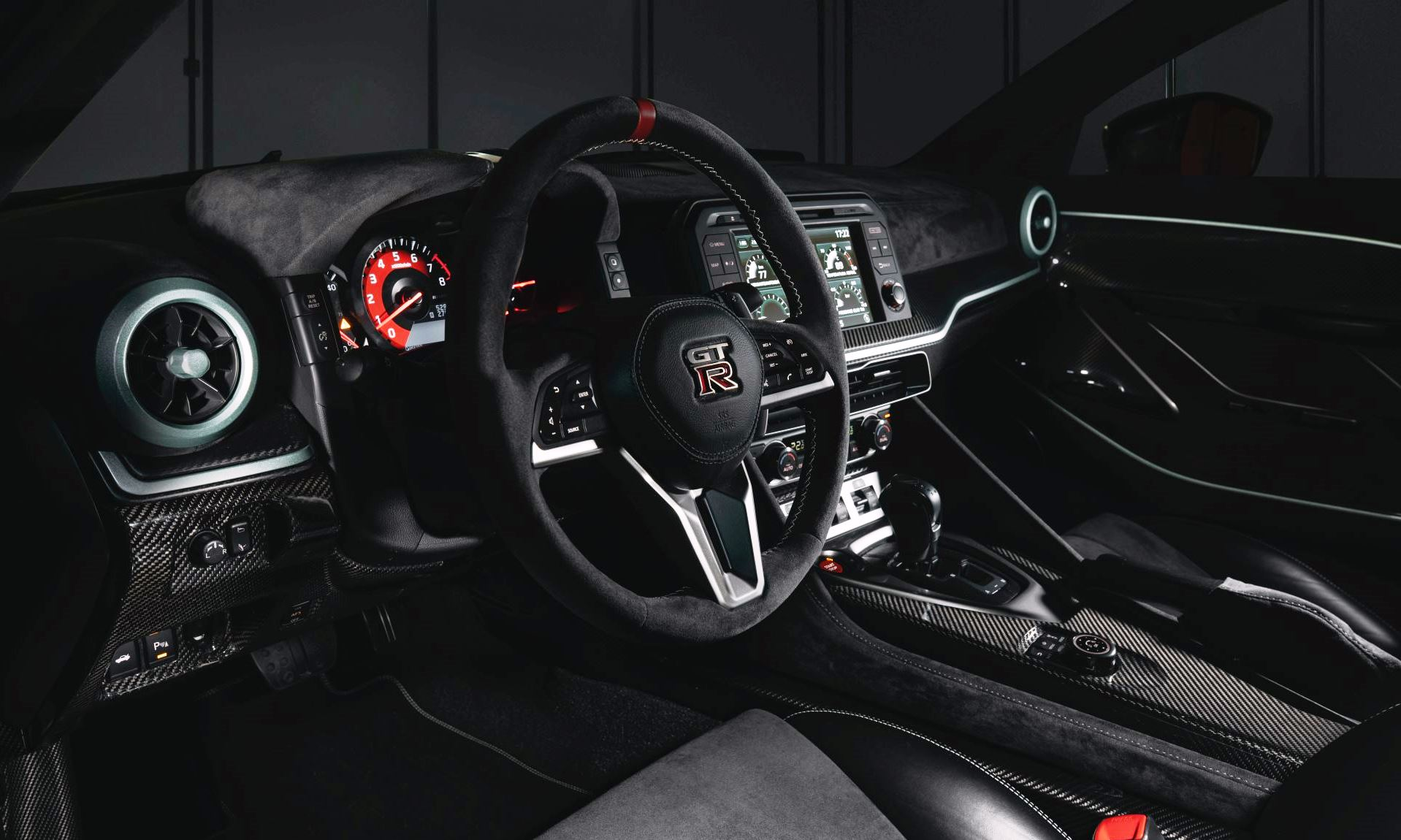 Nissan GT-R50 production version interior
