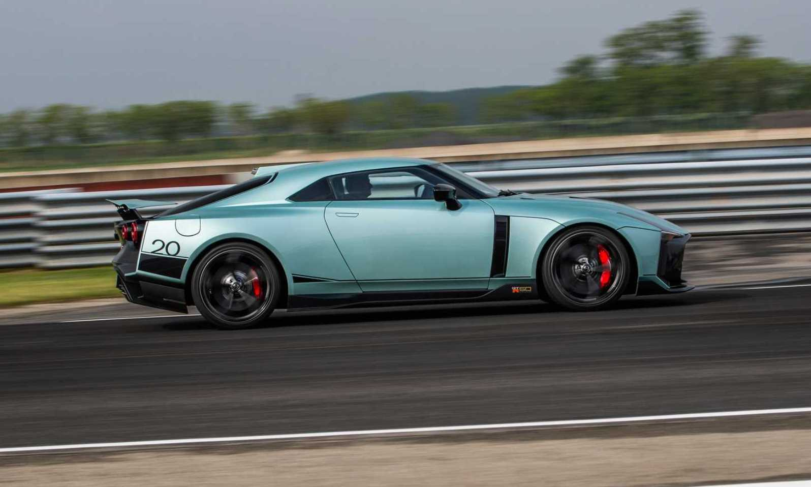 Nissan GT-R50 production version profile