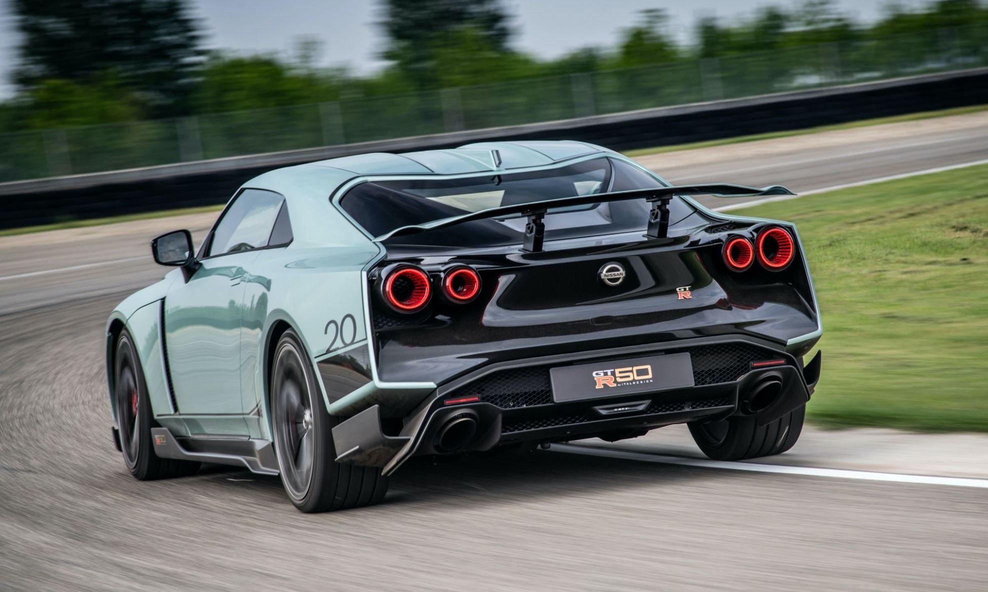 Nissan GT-R50 production version rear