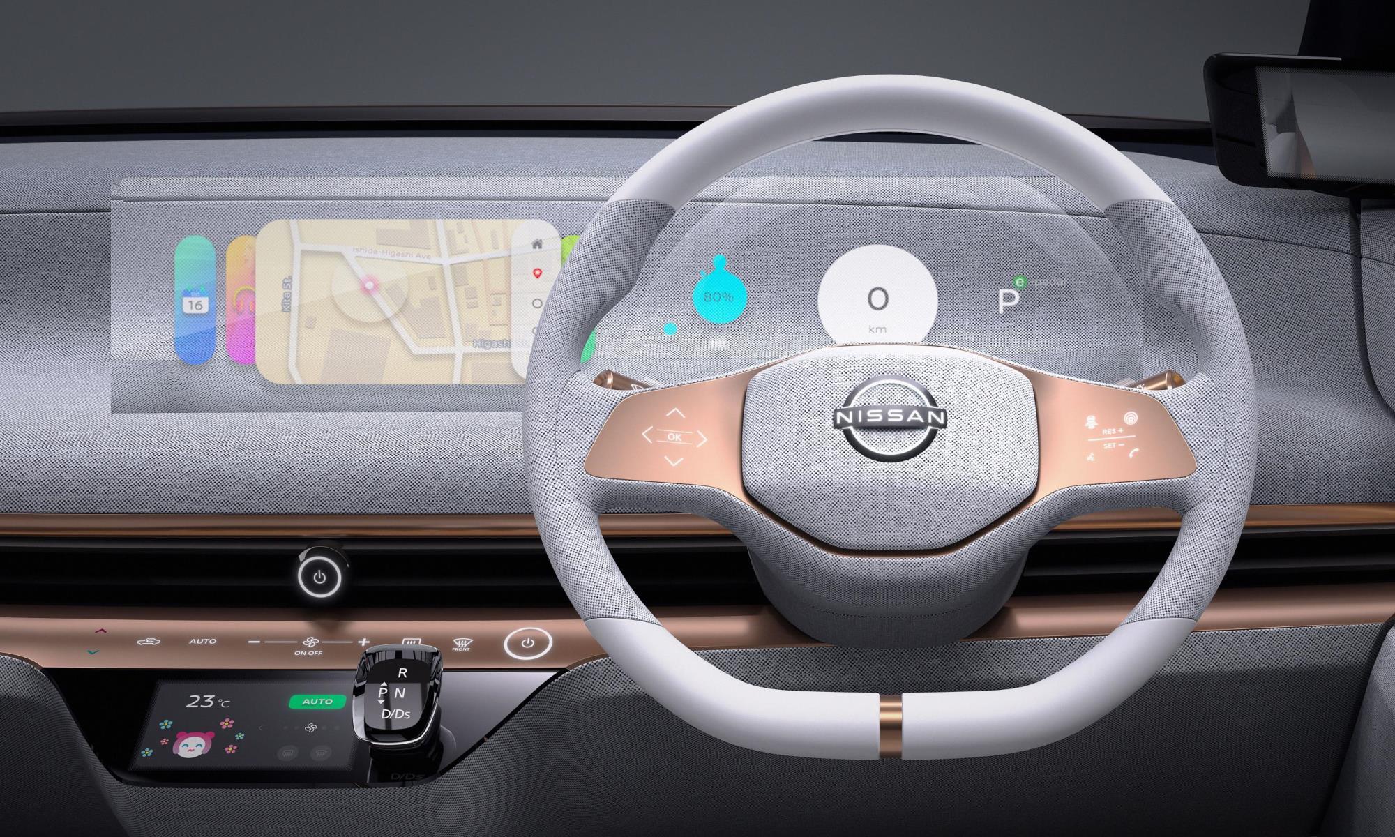 Nissan IMk concept car facia