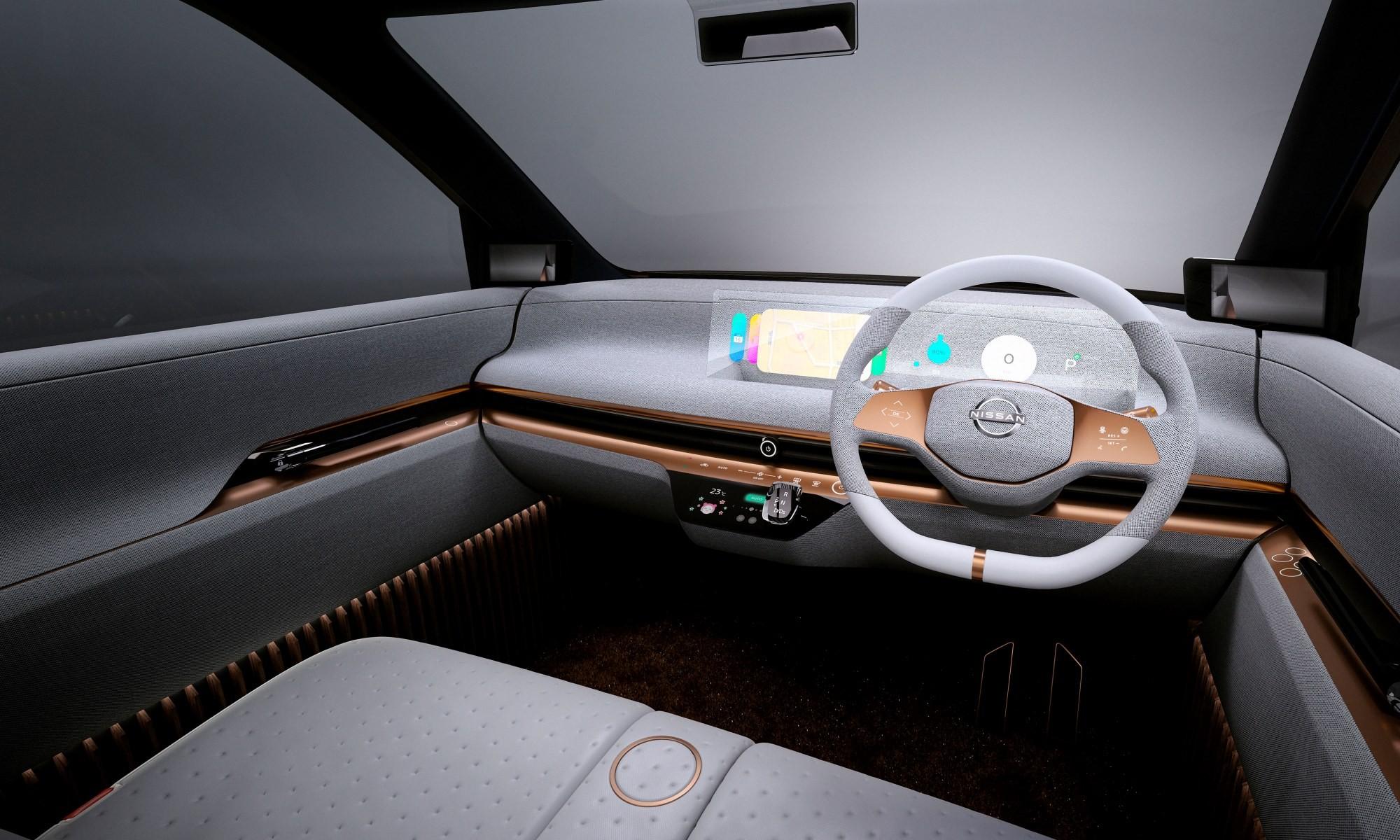 Nissan IMk concept car interior