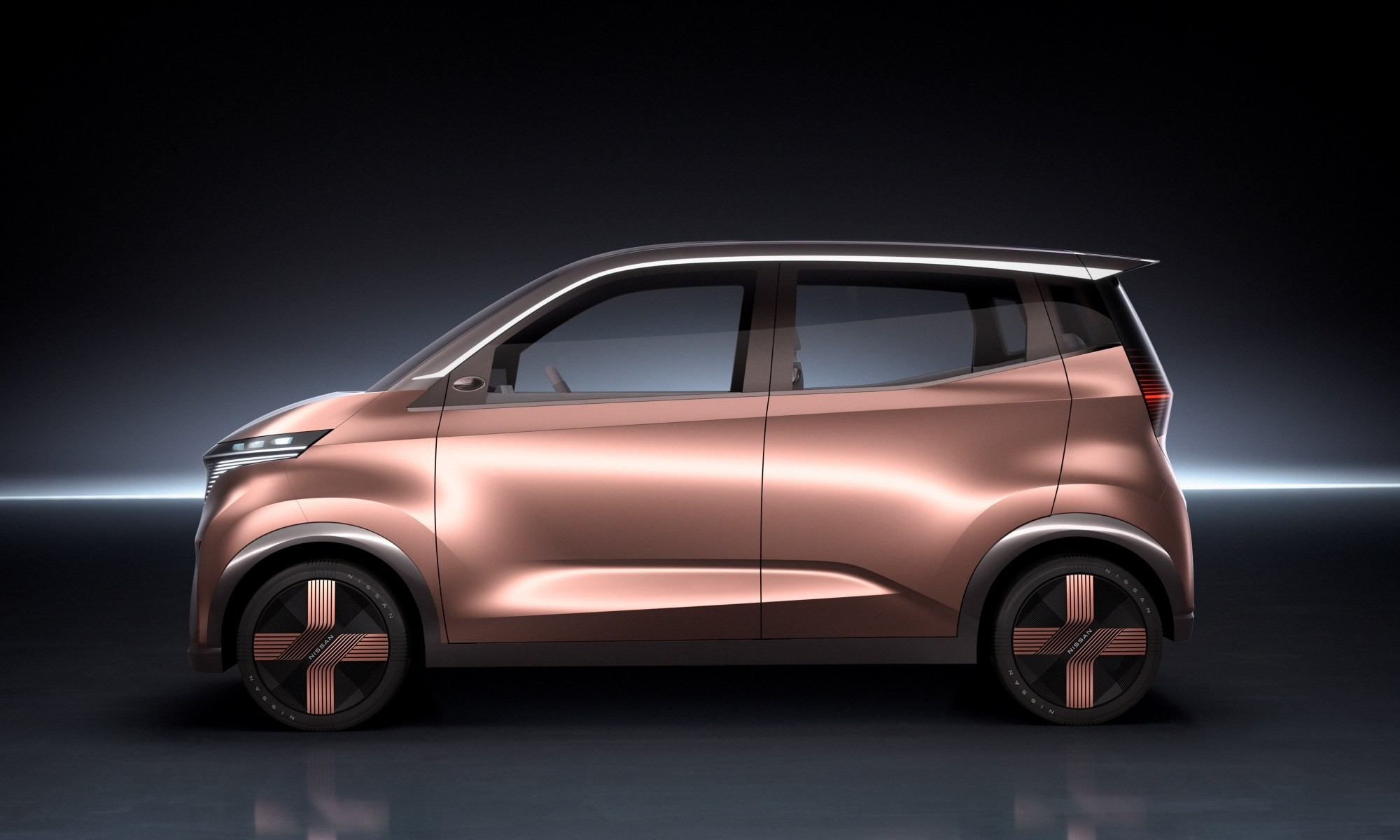 Nissan IMk concept car profile