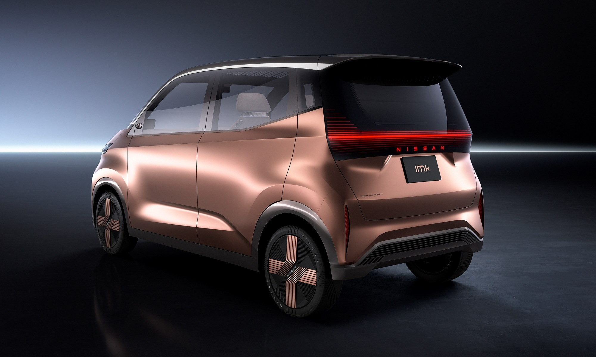 Nissan IMk concept car rear
