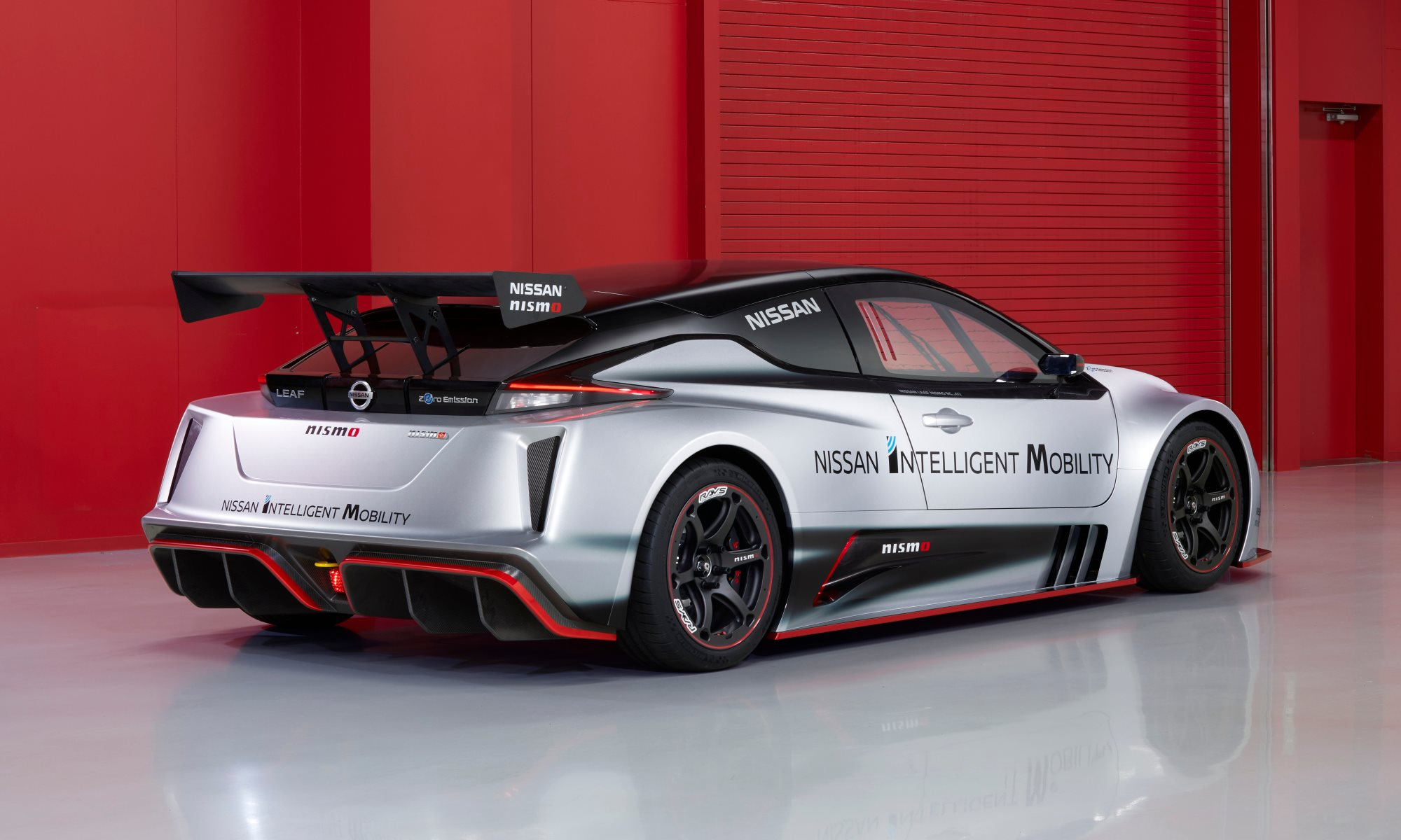 Nissan Leaf Nismo RC rear