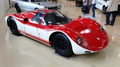 Nissan R380 II that made 162 kW from its 20-litre inline six