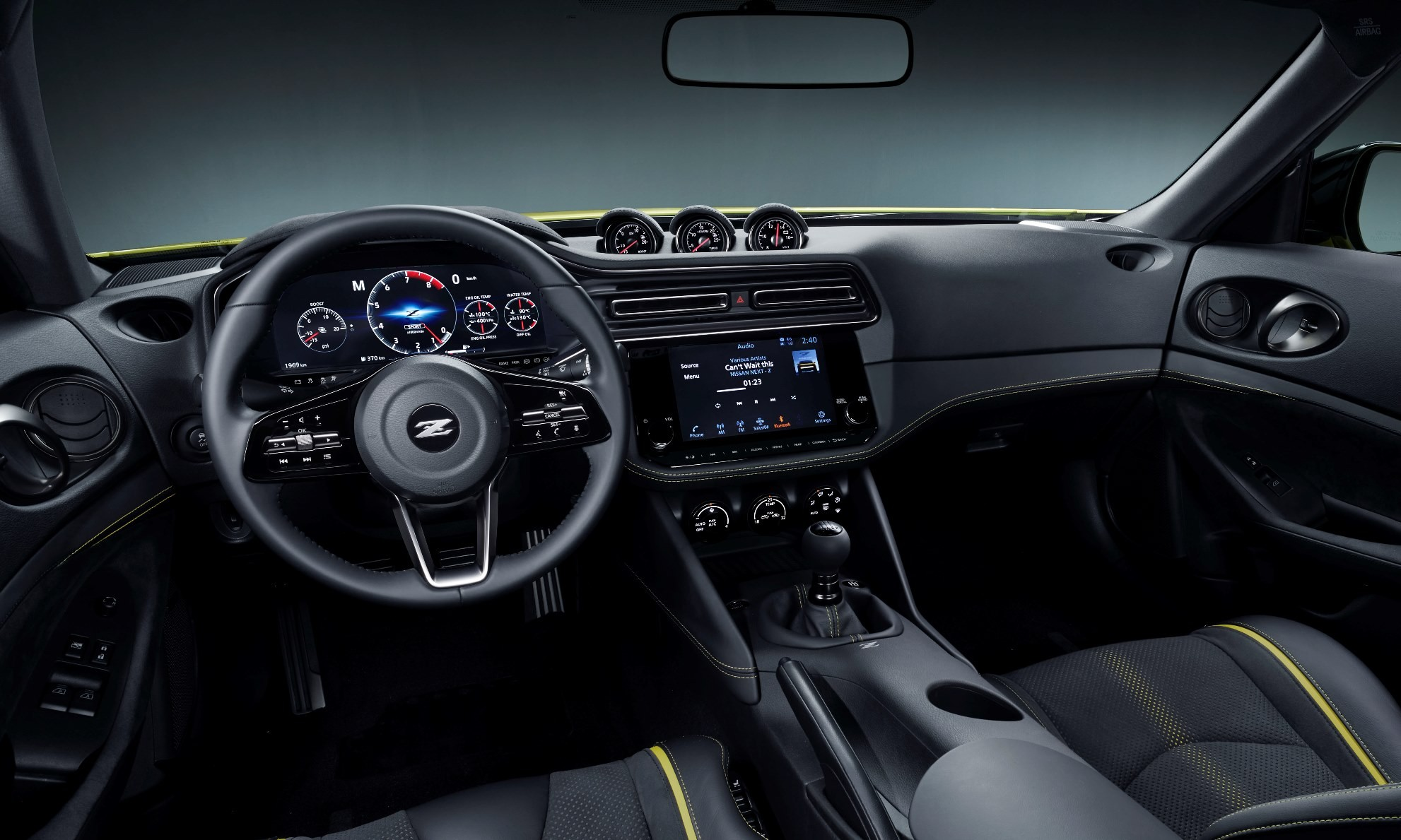 Nissan Z Proto Unveiled interior