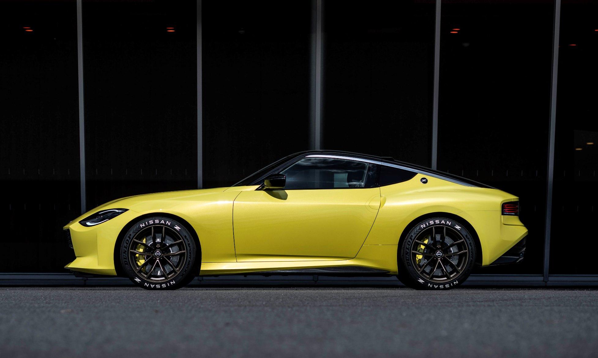 Nissan Z Proto Unveiled profile