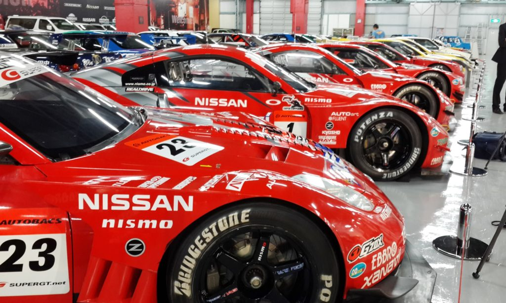 Nissan preserves its race history well