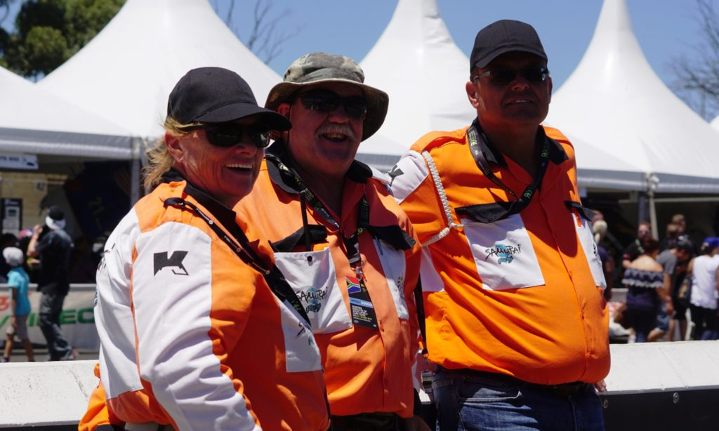 No racing would take place without race marshals. The Killarney regulars kept the show running smoothly all weekend.