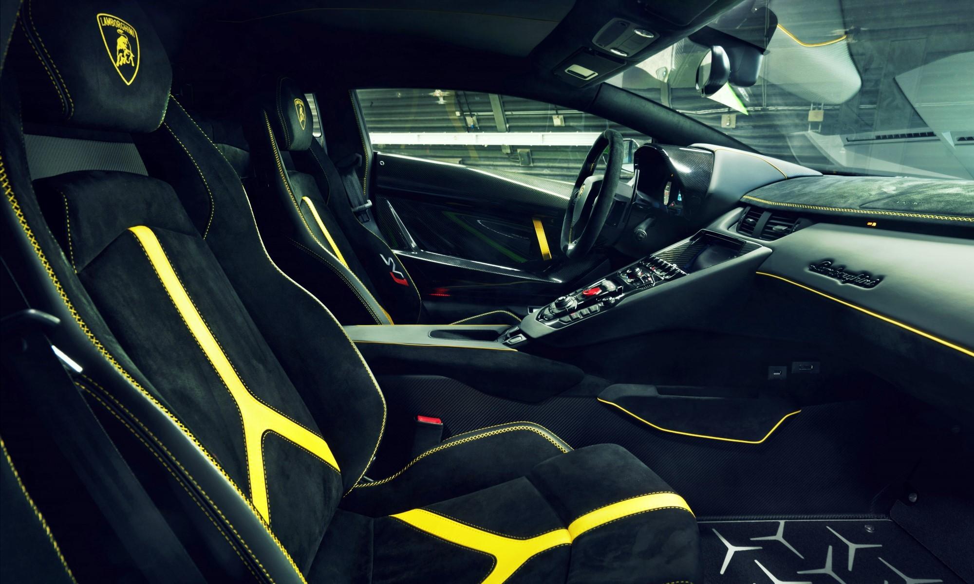 Novitec Lamborghini Aventador SVJ interior