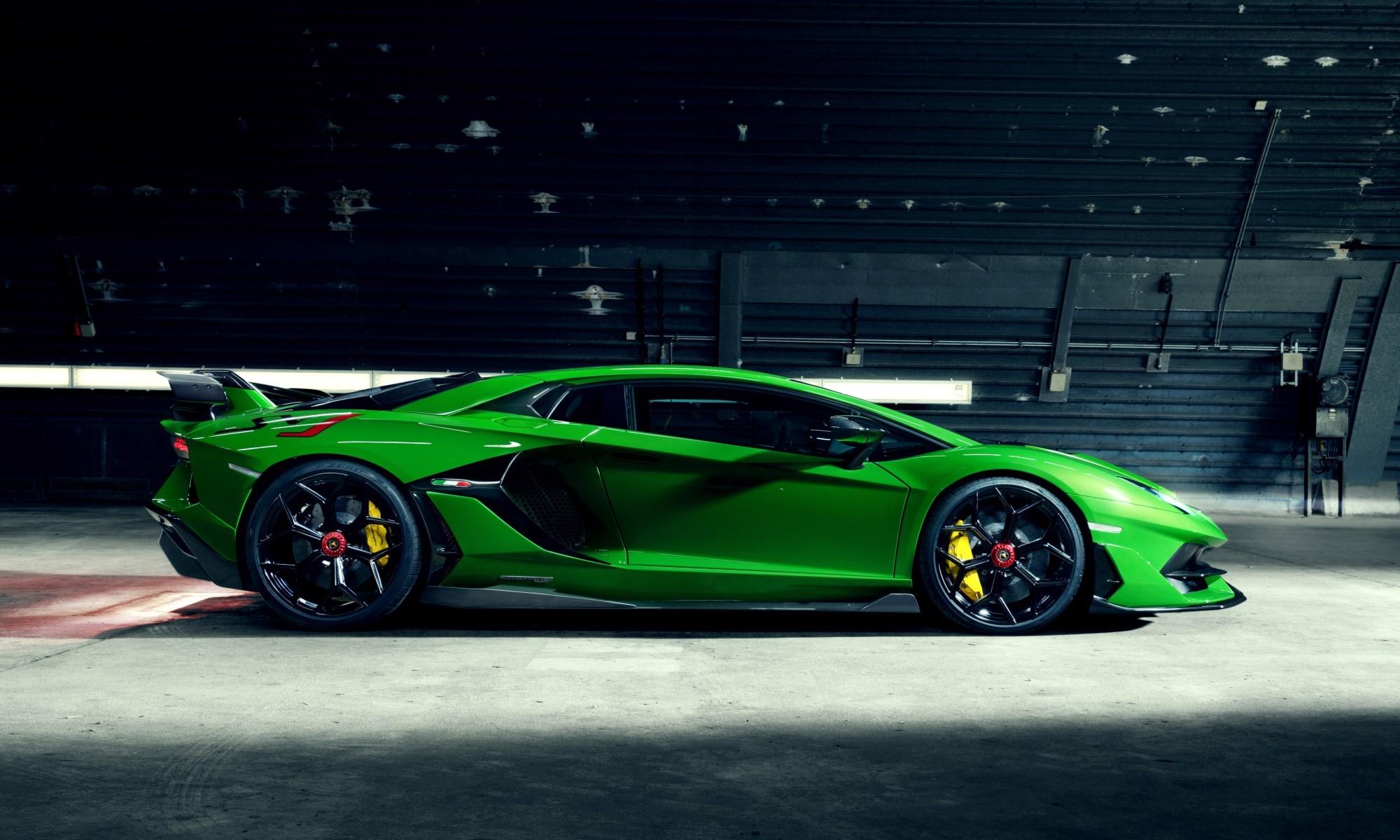 Novitec Lamborghini Aventador SVJ profile