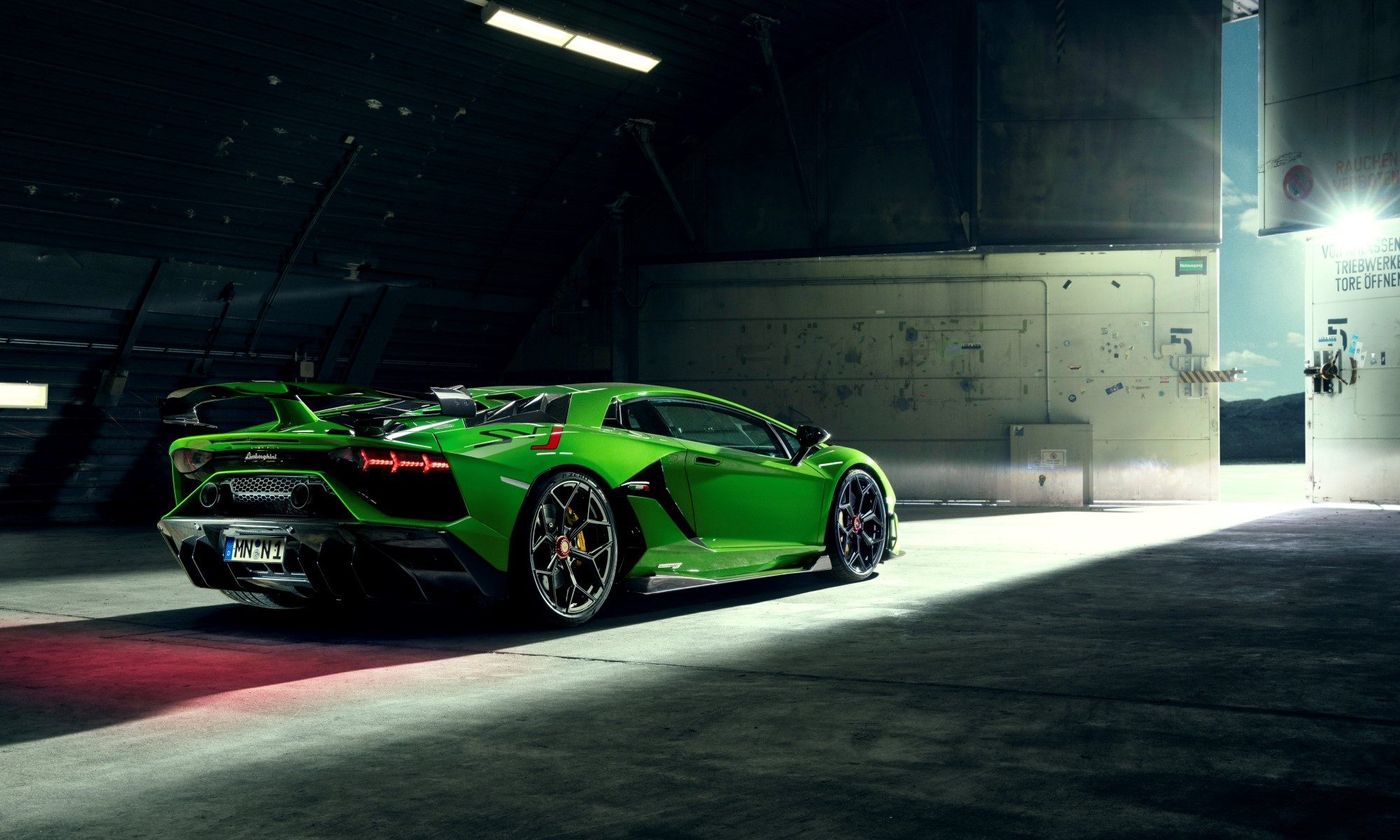 Novitec Lamborghini Aventador SVJ rear