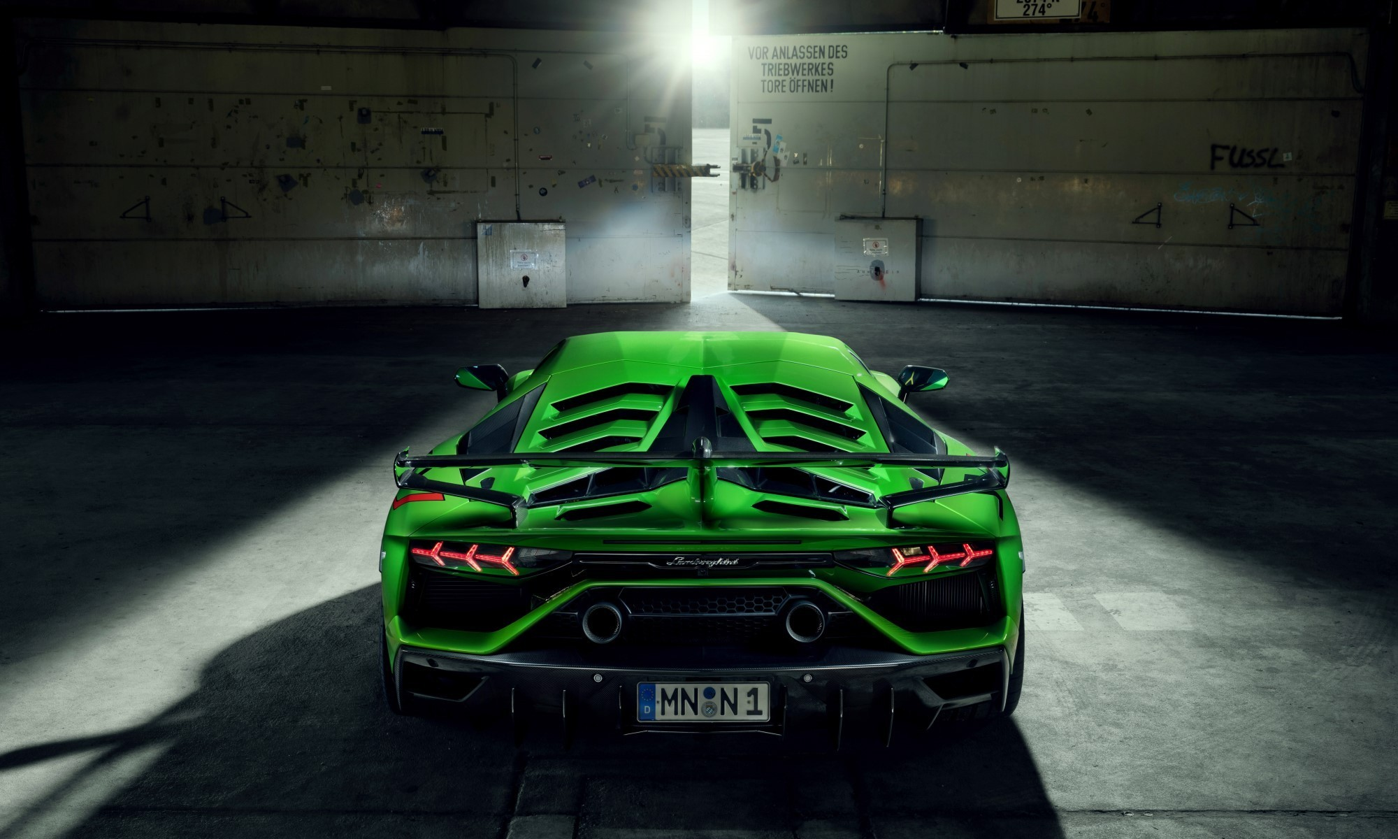 Novitec Lamborghini Aventador SVJ wing