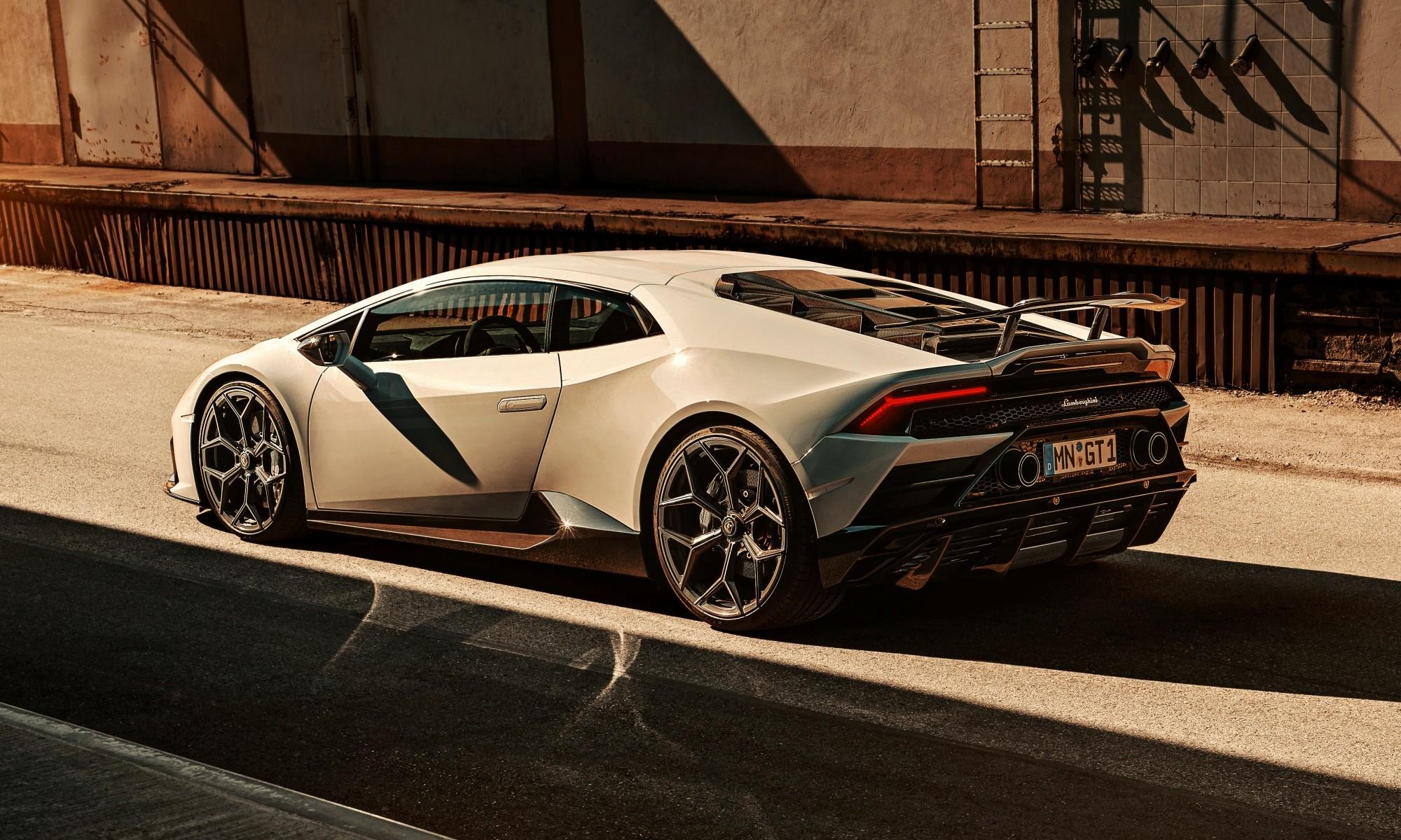 Novitec Lamborghini Huracan Evo rear