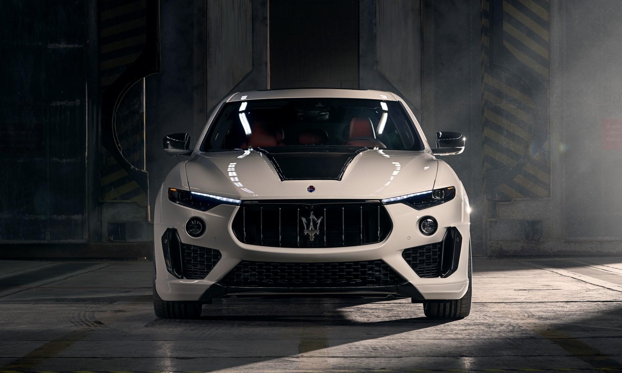 Novitec Maserati Levante front-on