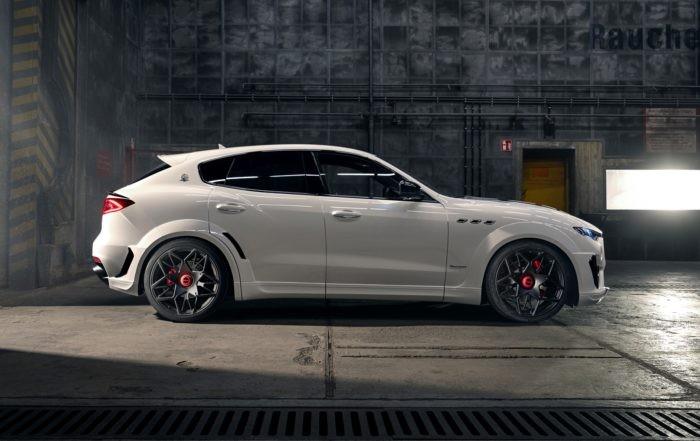 Novitec Maserati Levante profile
