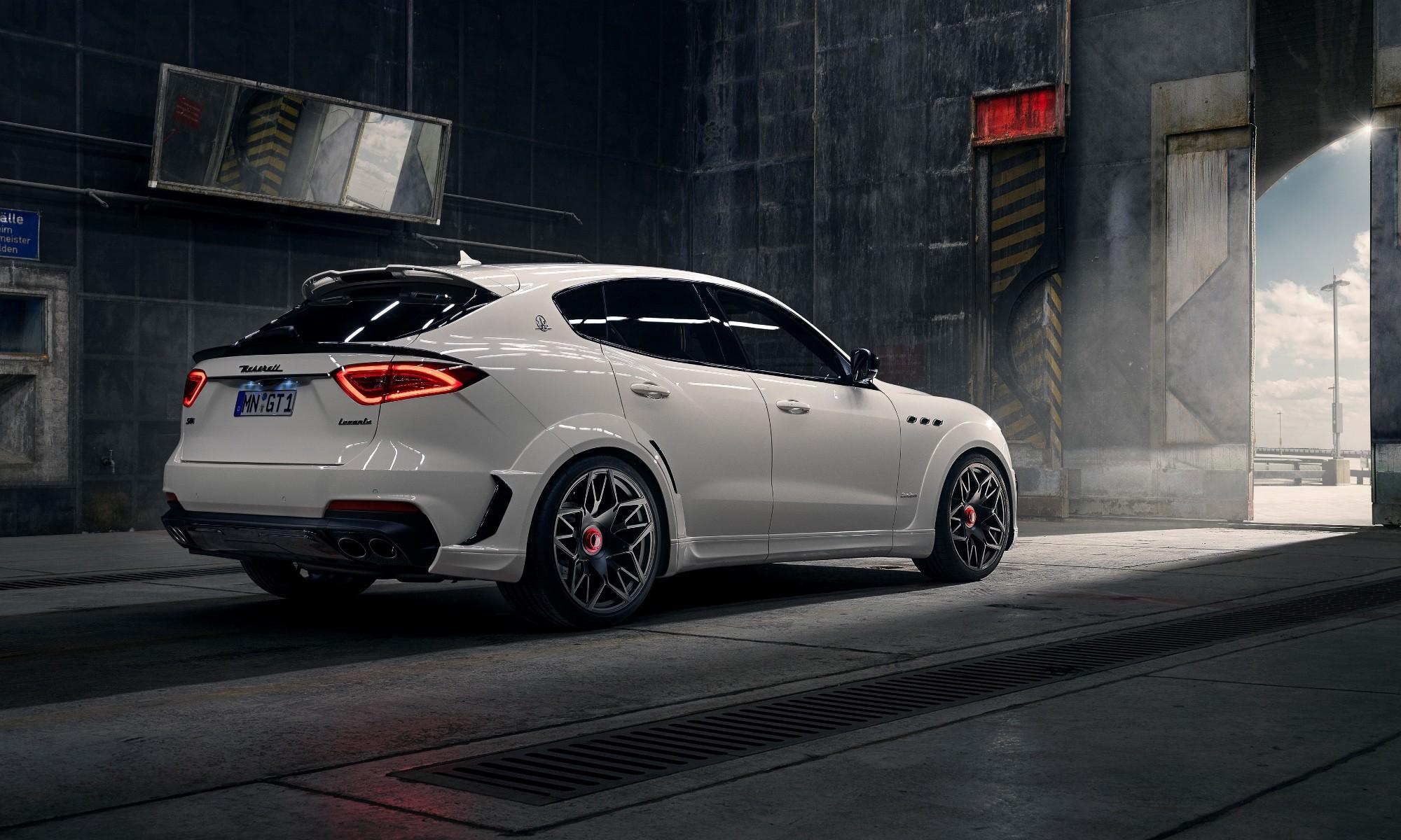 Novitec Maserati Levante rear
