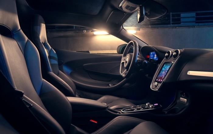 Novitec McLaren GT interior