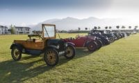 One of the oldest cars on display was this 1916 Ford