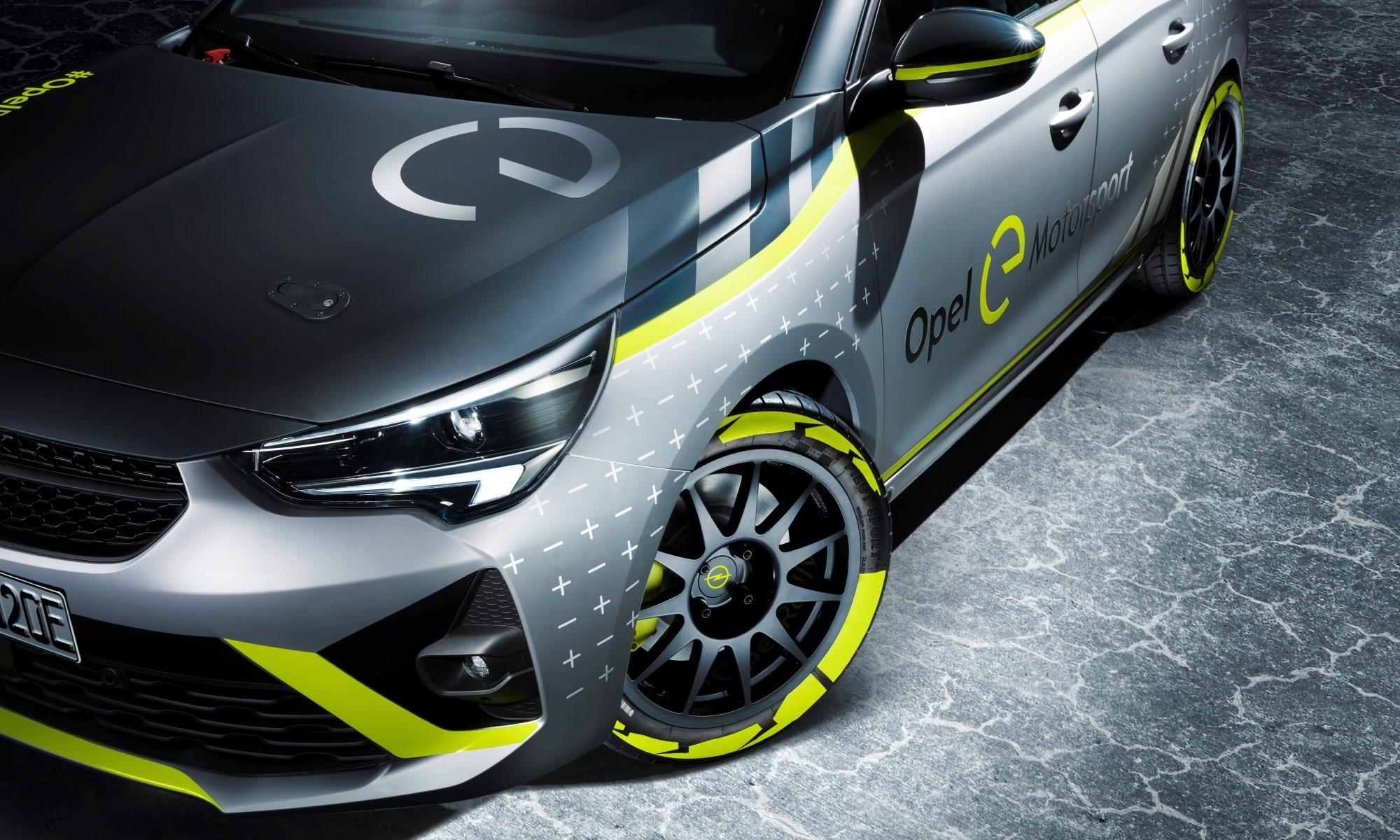 Opel Corsa-e Rally Car wheels