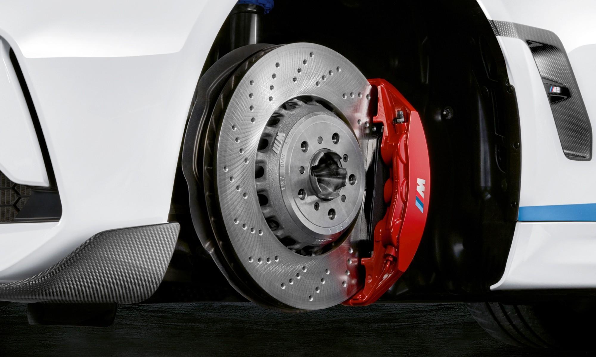 Optional upgraded brakes