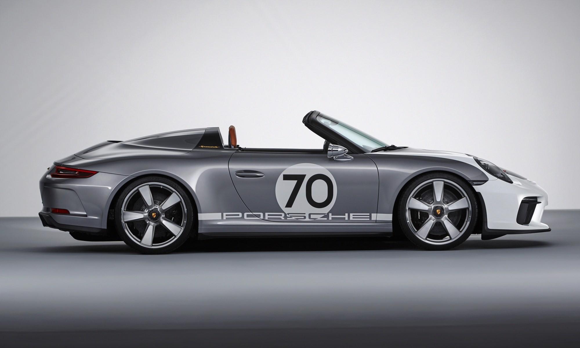 Porsche 911 Speedster Concept profile