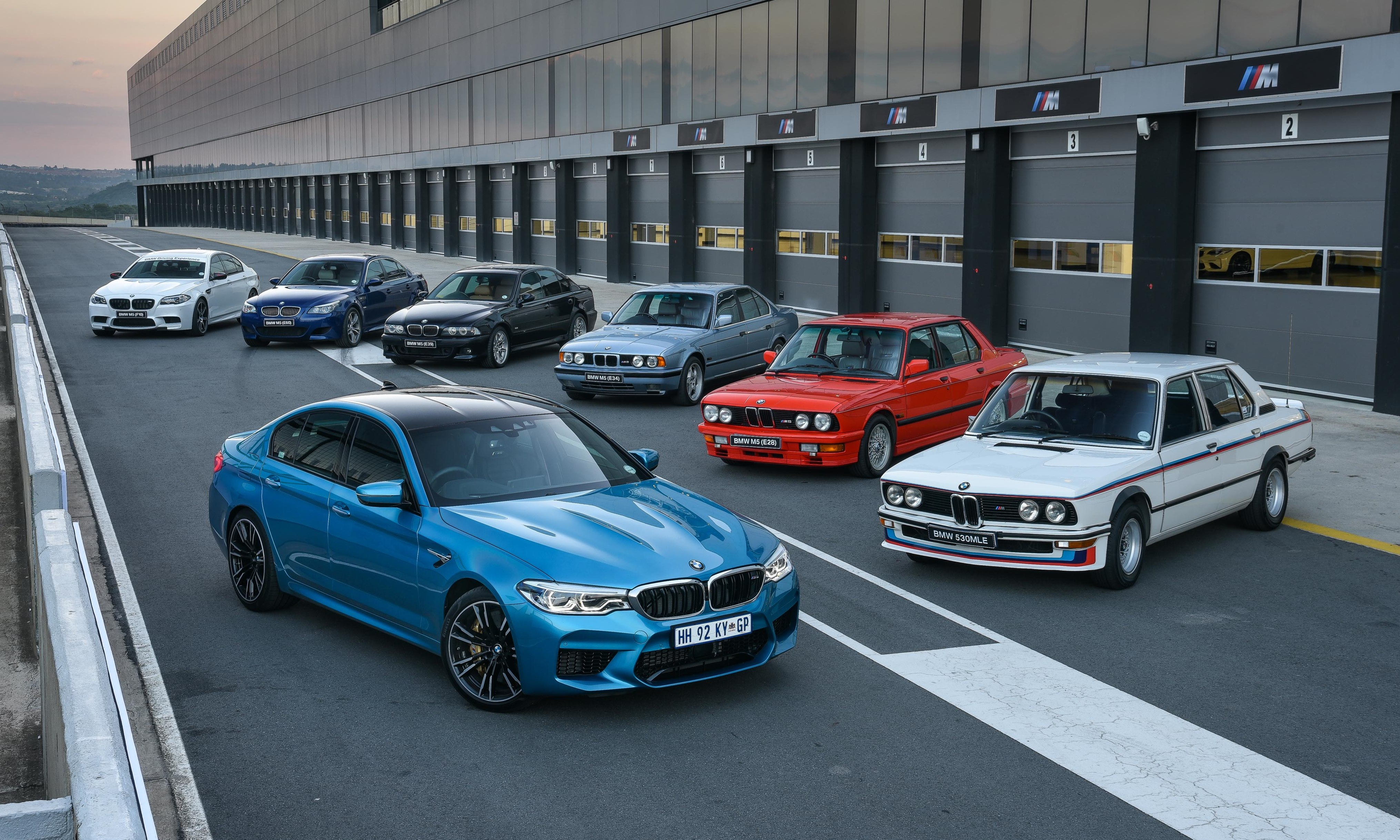 BMW M5 family