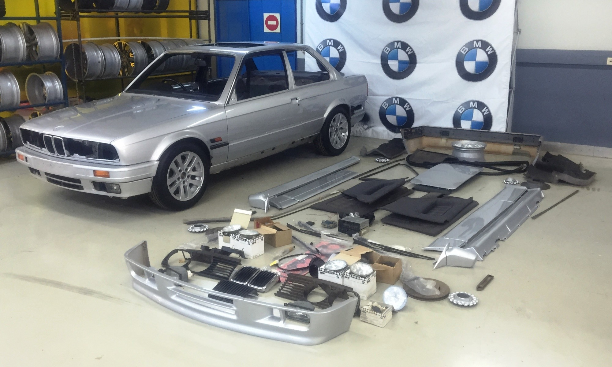 The BMW 325iS was a sorry sight to start with