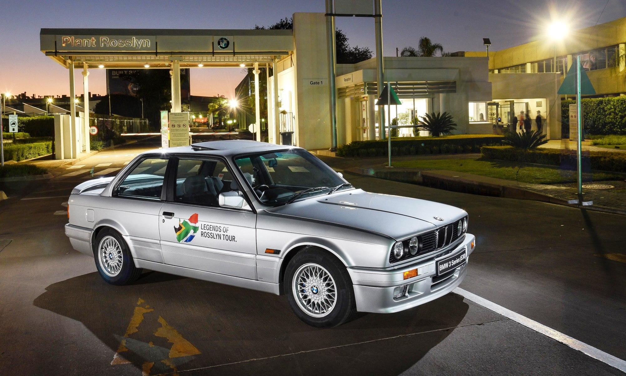 Resurrected BMW 325iS headlines road show