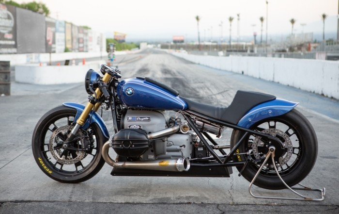 BMW R18 Dragster profile