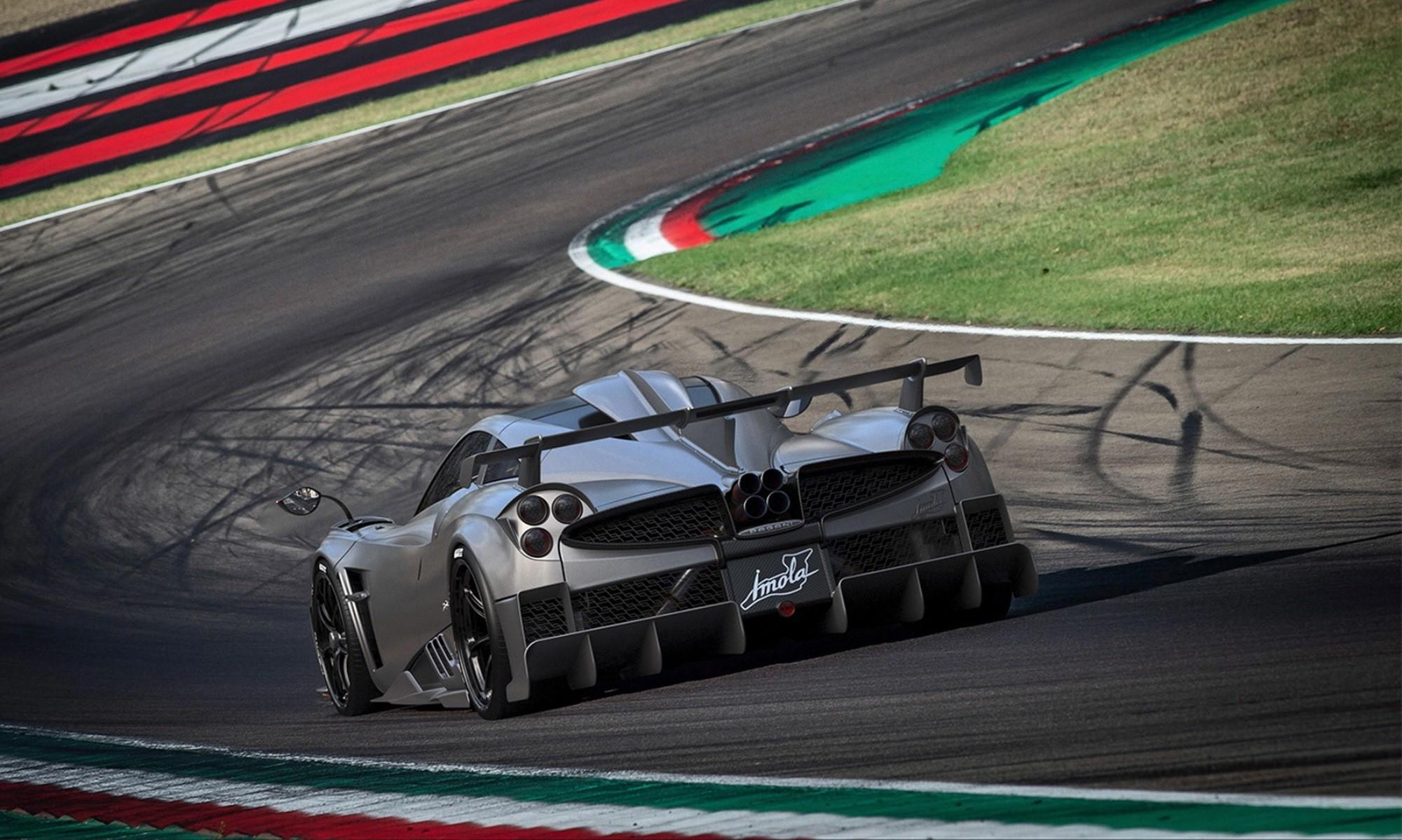 Pagani Imola rear track