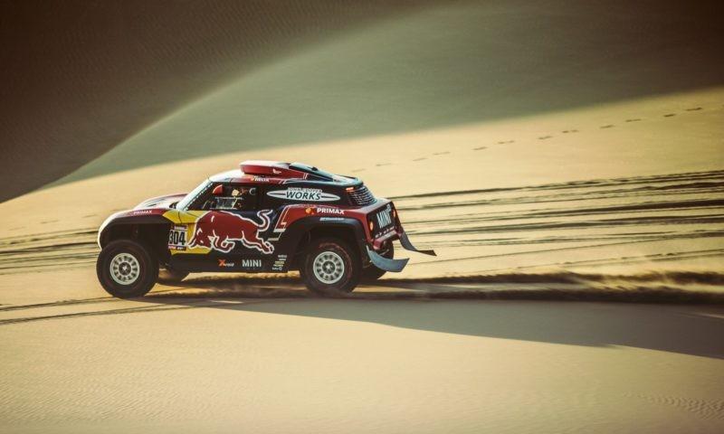 Peterhansel claimed Dakar Rally stage 3