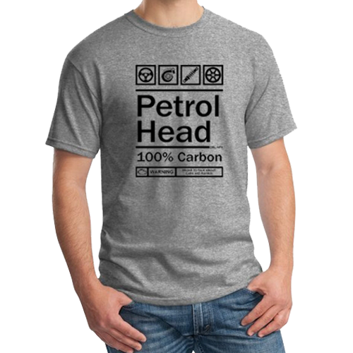 100% Petrolhead car T-shirt