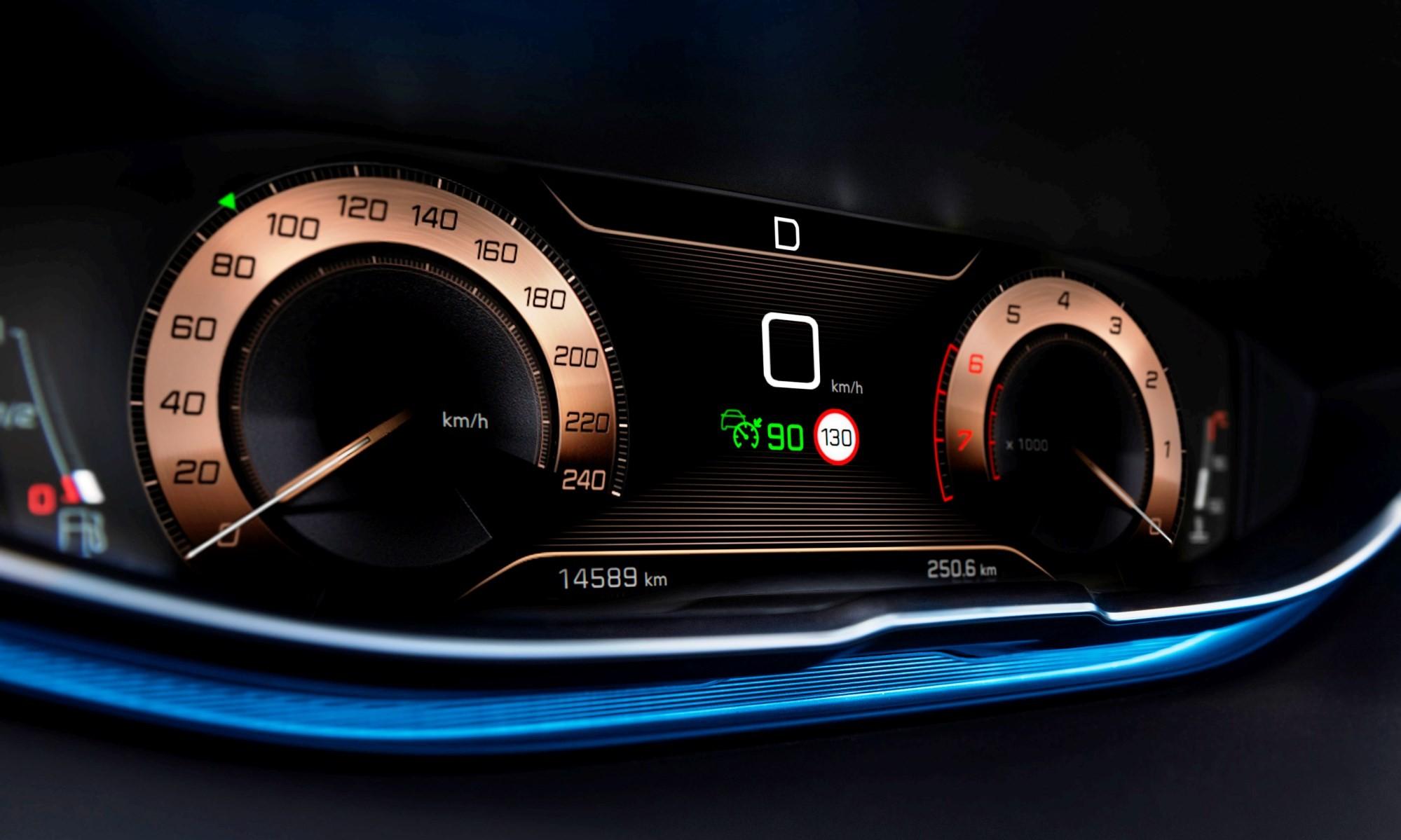 Peugeot 3008 GT Line instruments