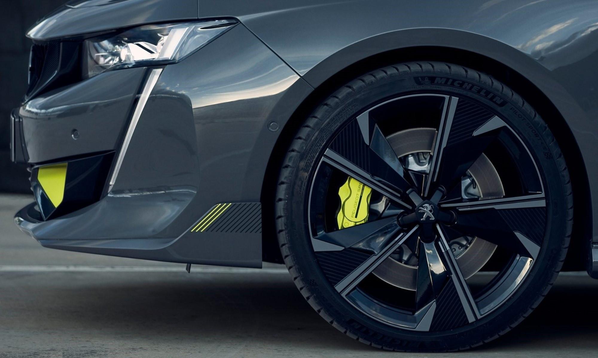 Peugeot 508 Sport Engineered wheel