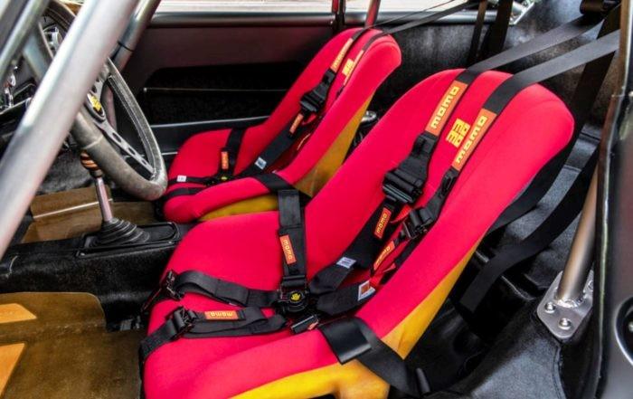 Porsche 356 RSR interior