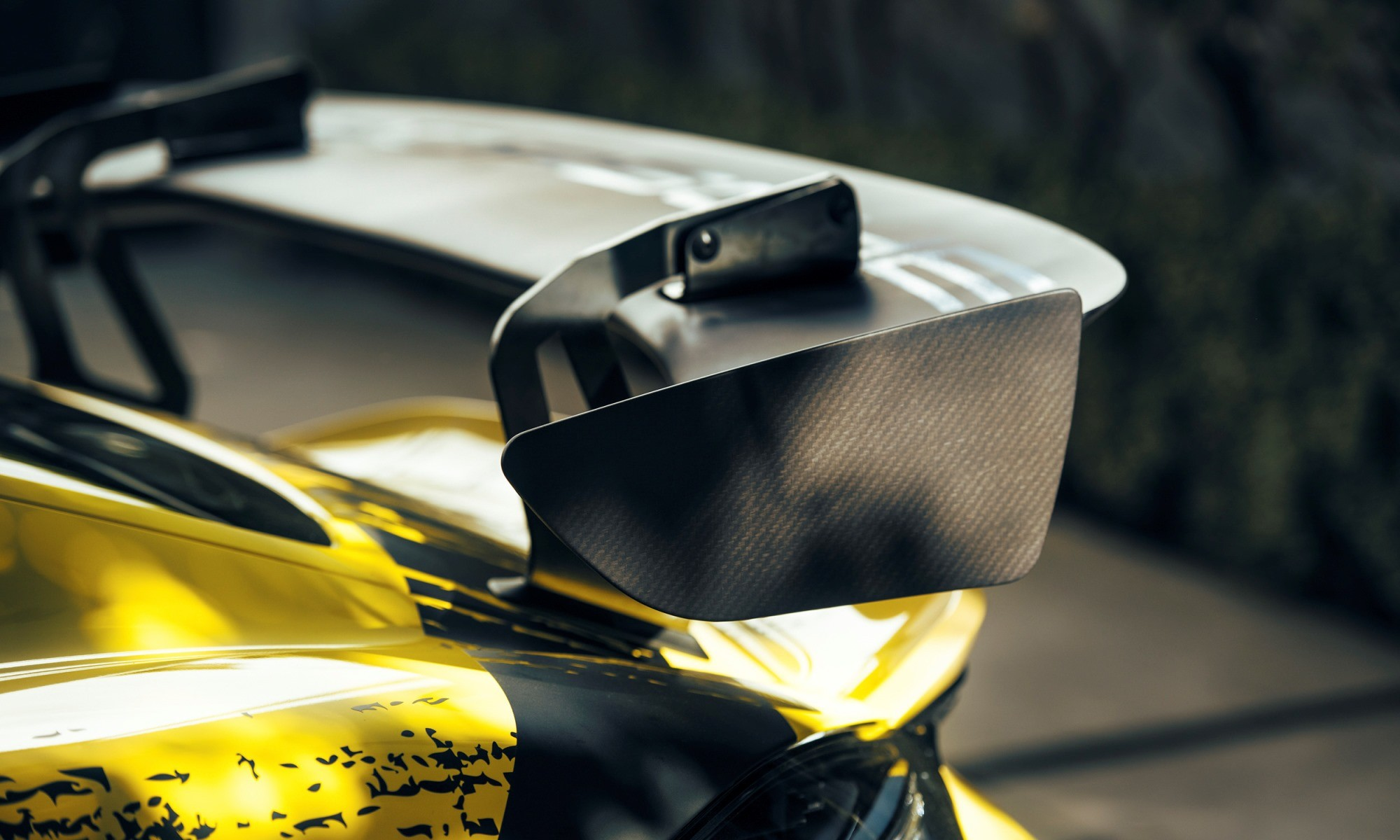 Porsche 718 Cayman GT4 Clubsport rear wing