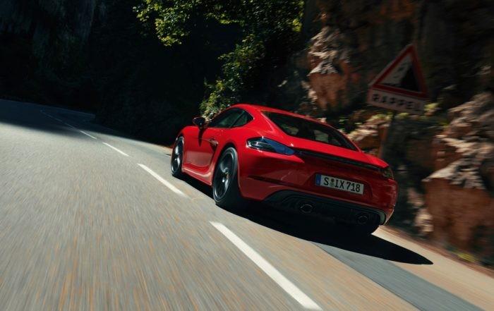Porsche 718 GTS 4,0 Cayman rear