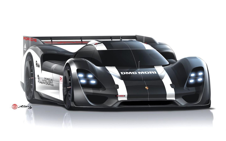 Porsche 908 RSR sketch