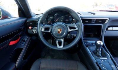 Porsche 911 Carrera T facia