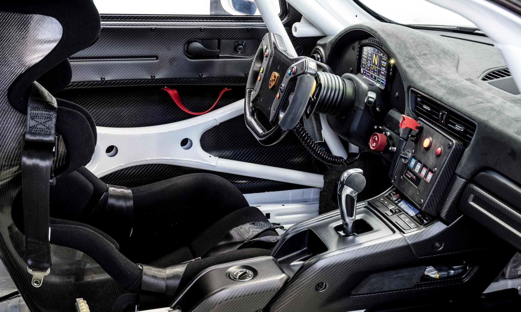 Porsche 911 GT2 RS Clubsport interior