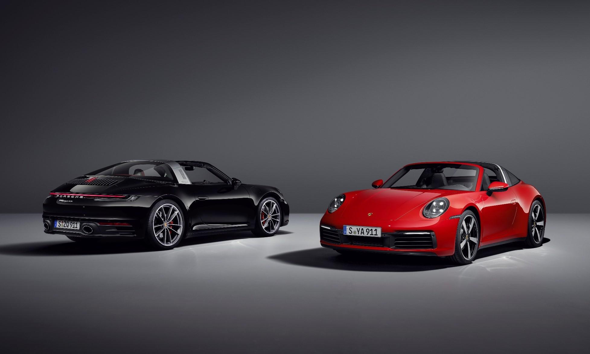 Porsche 911 Targa Debuts