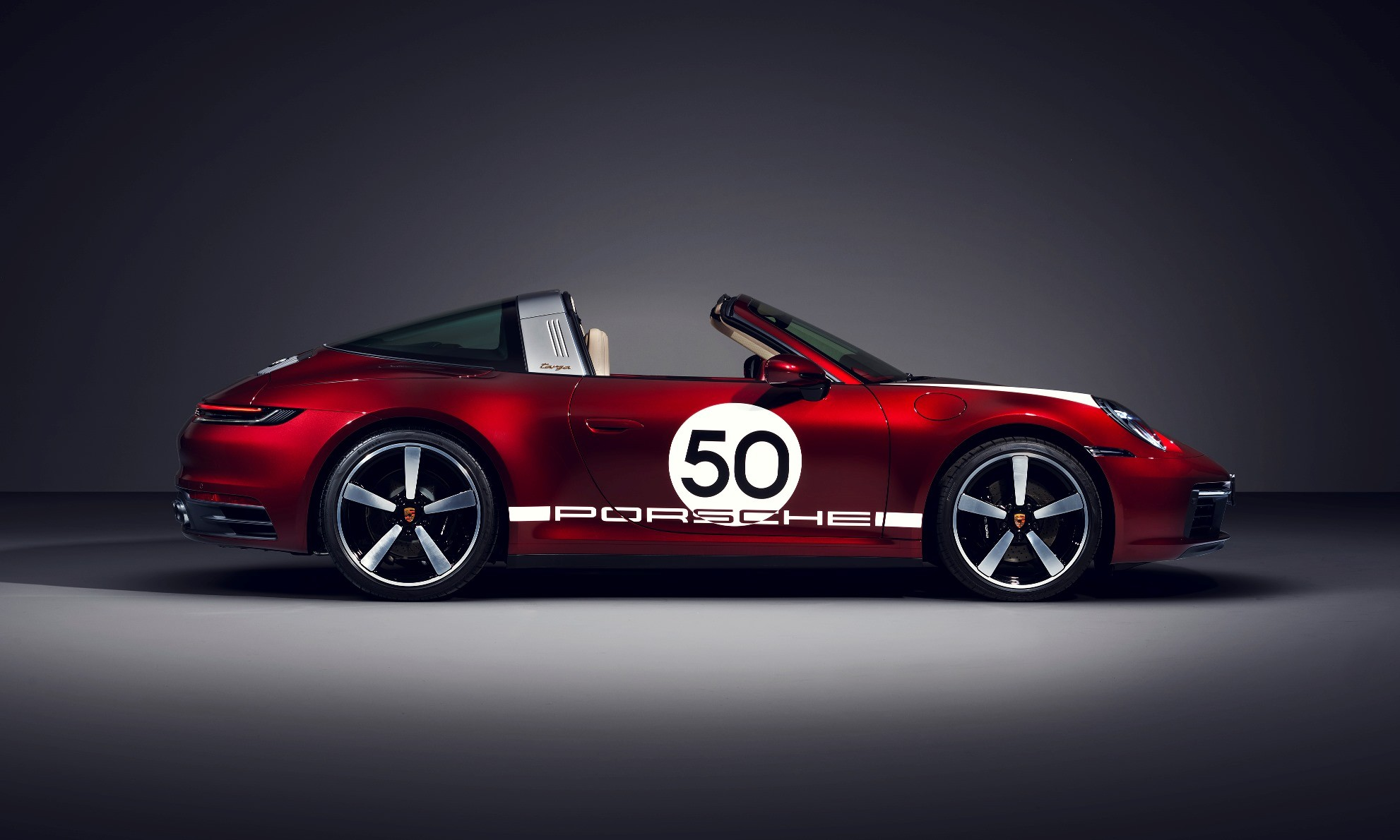 Porsche 911 Targa Heritage Design Edition profile