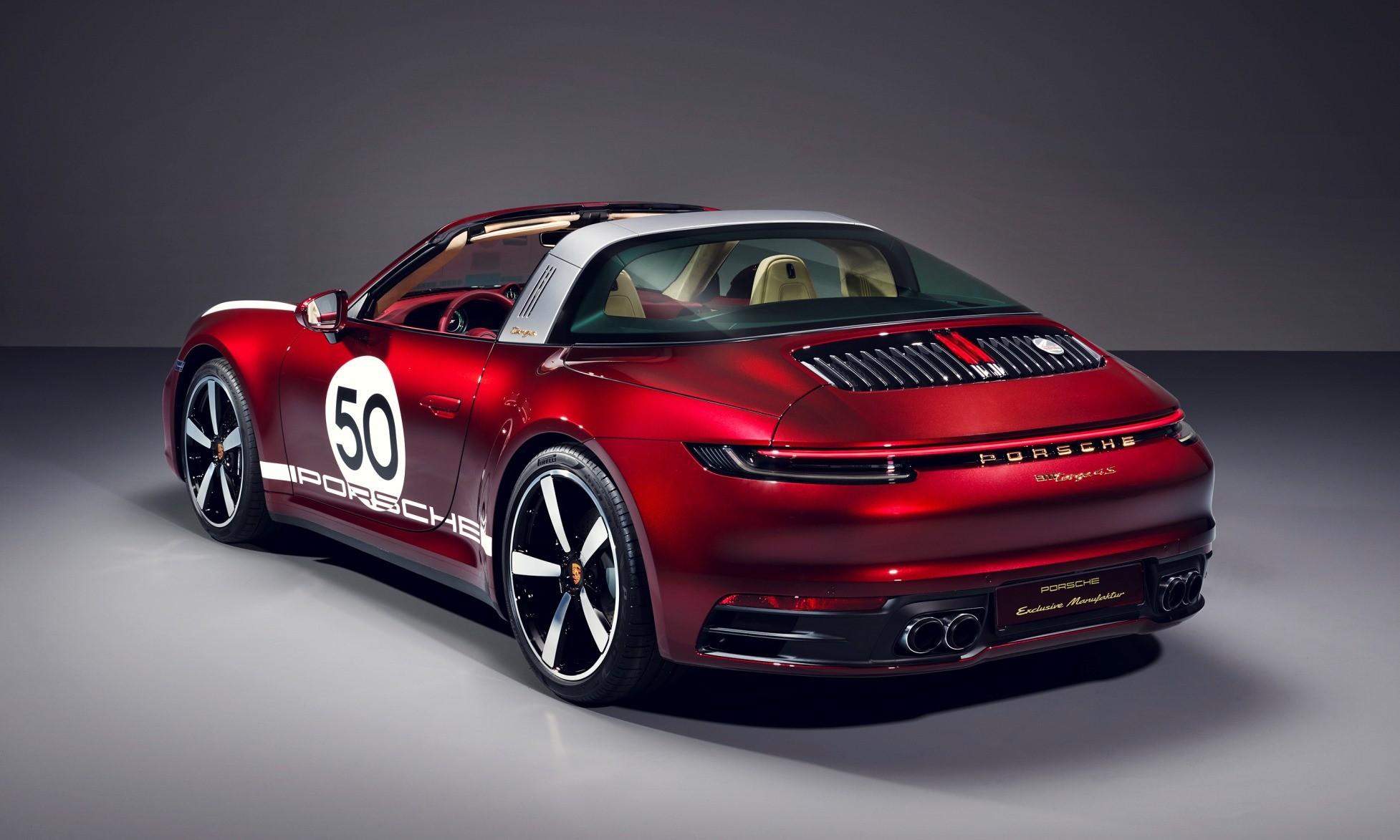 Porsche 911 Targa Heritage Design Edition rear