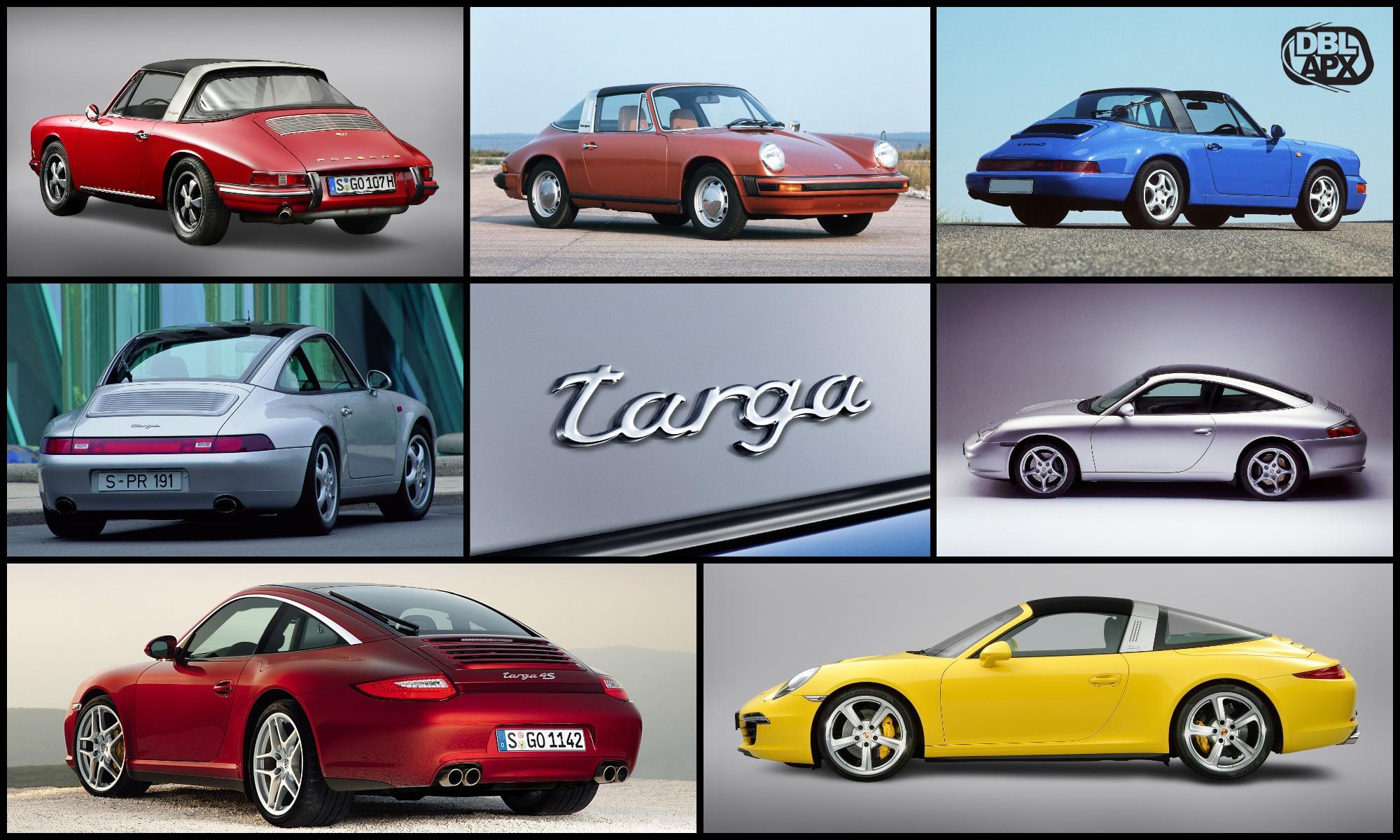 Porsche 911 Targa poster
