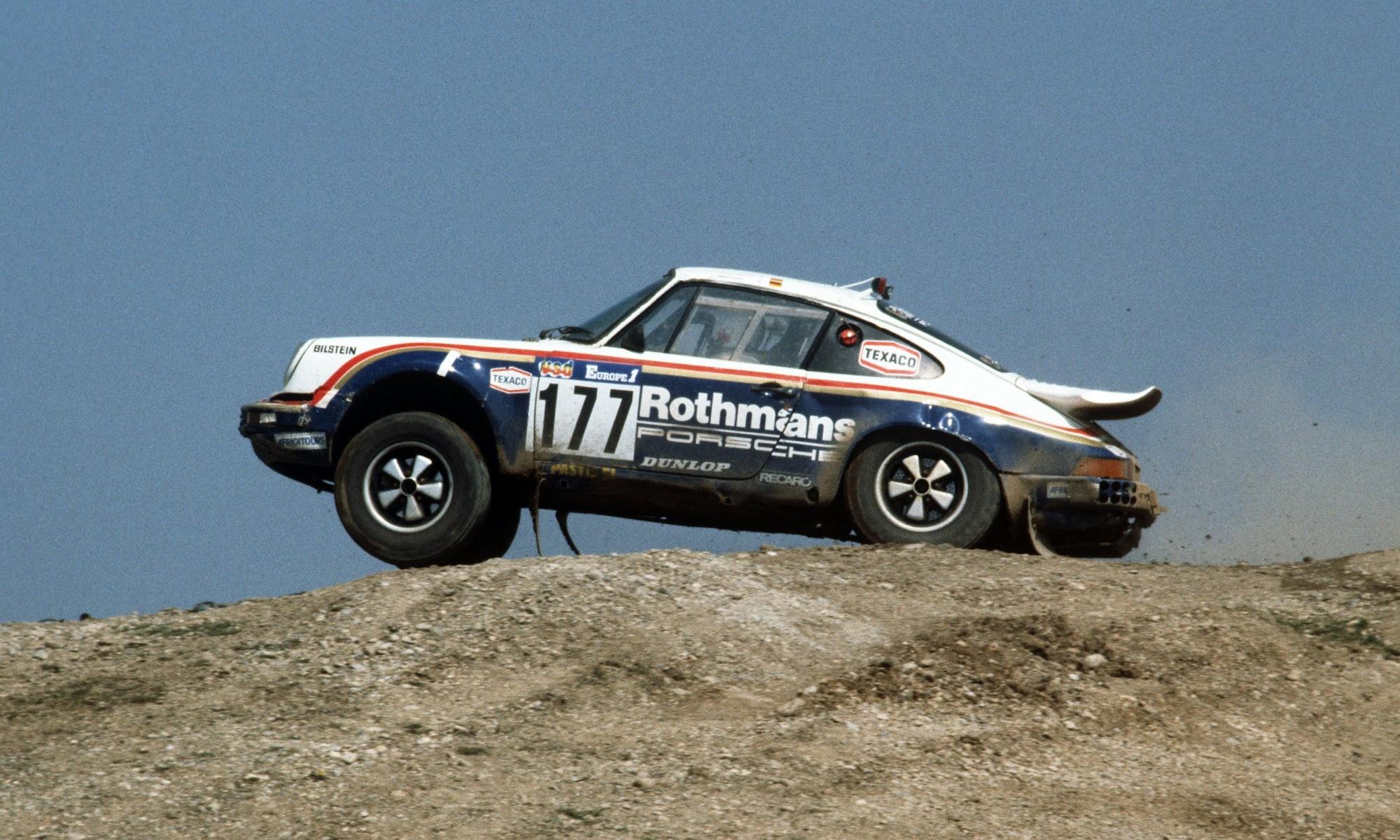 Porsche Rally Cars