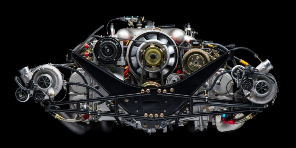 Porsche 959 Reimagined by Canepa engine 1