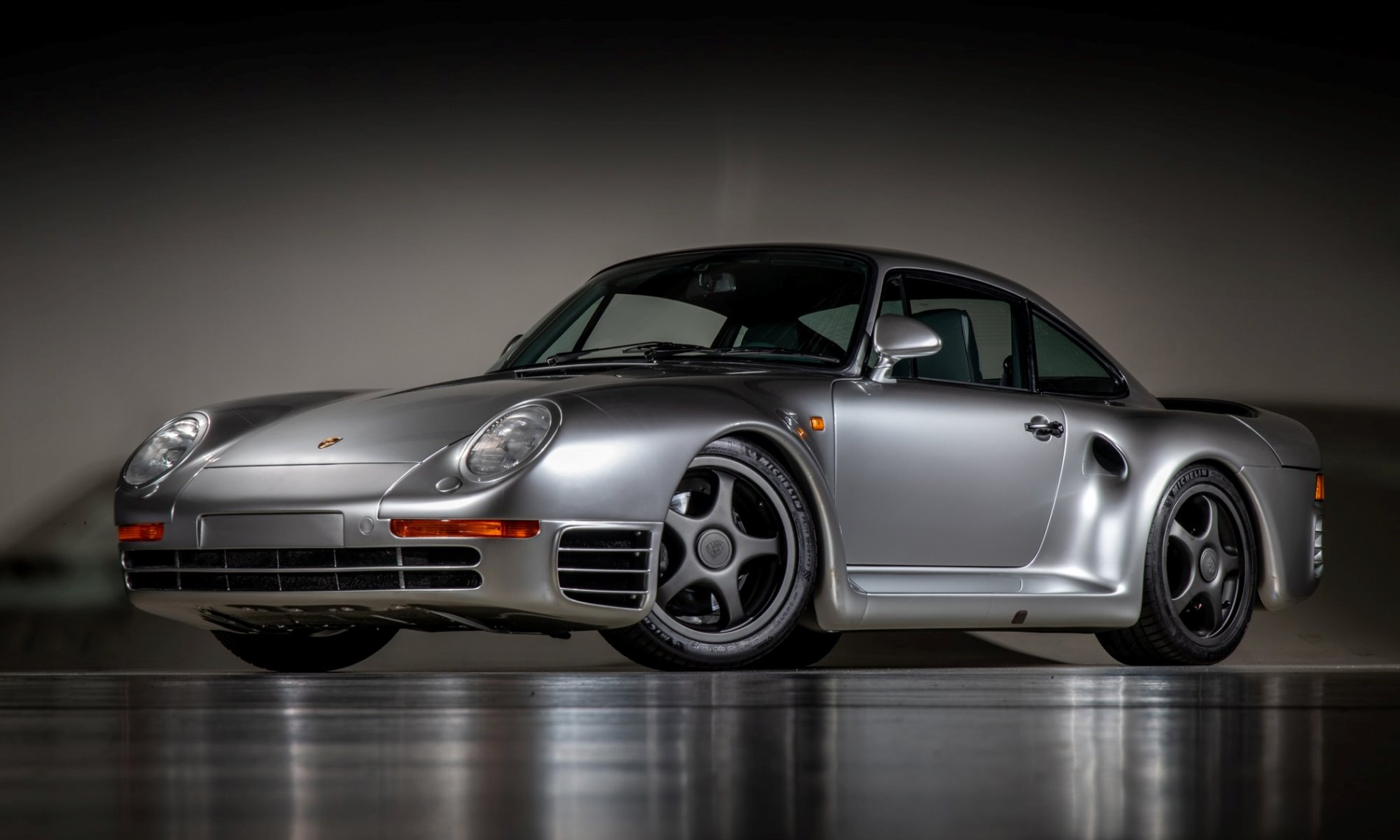 Porsche 959 Reimagined by Canepa grey