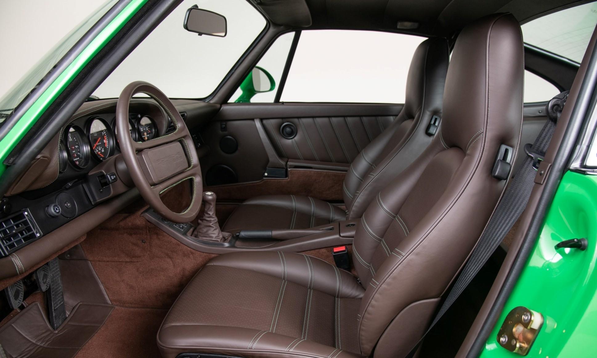 Porsche 959 Reimagined by Canepa interior